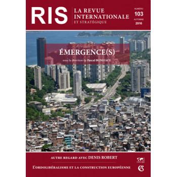 RIS N°103 – AUTOMNE 2016